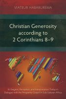 Christian Generosity according to 2 Corinthians 8–9