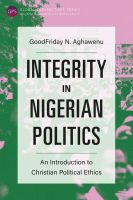 Integrity in Nigerian Politics