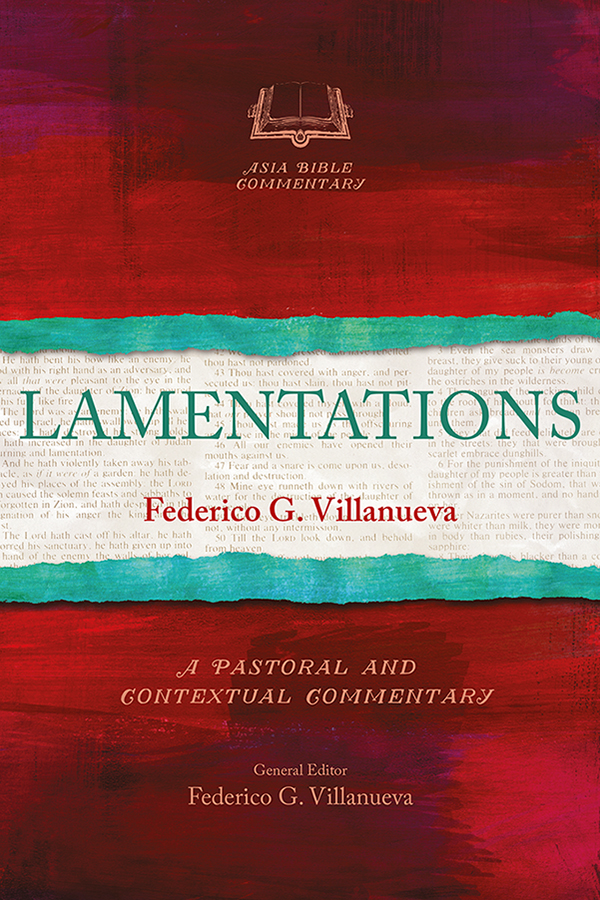 Lamentations by Federico G. Villanueva