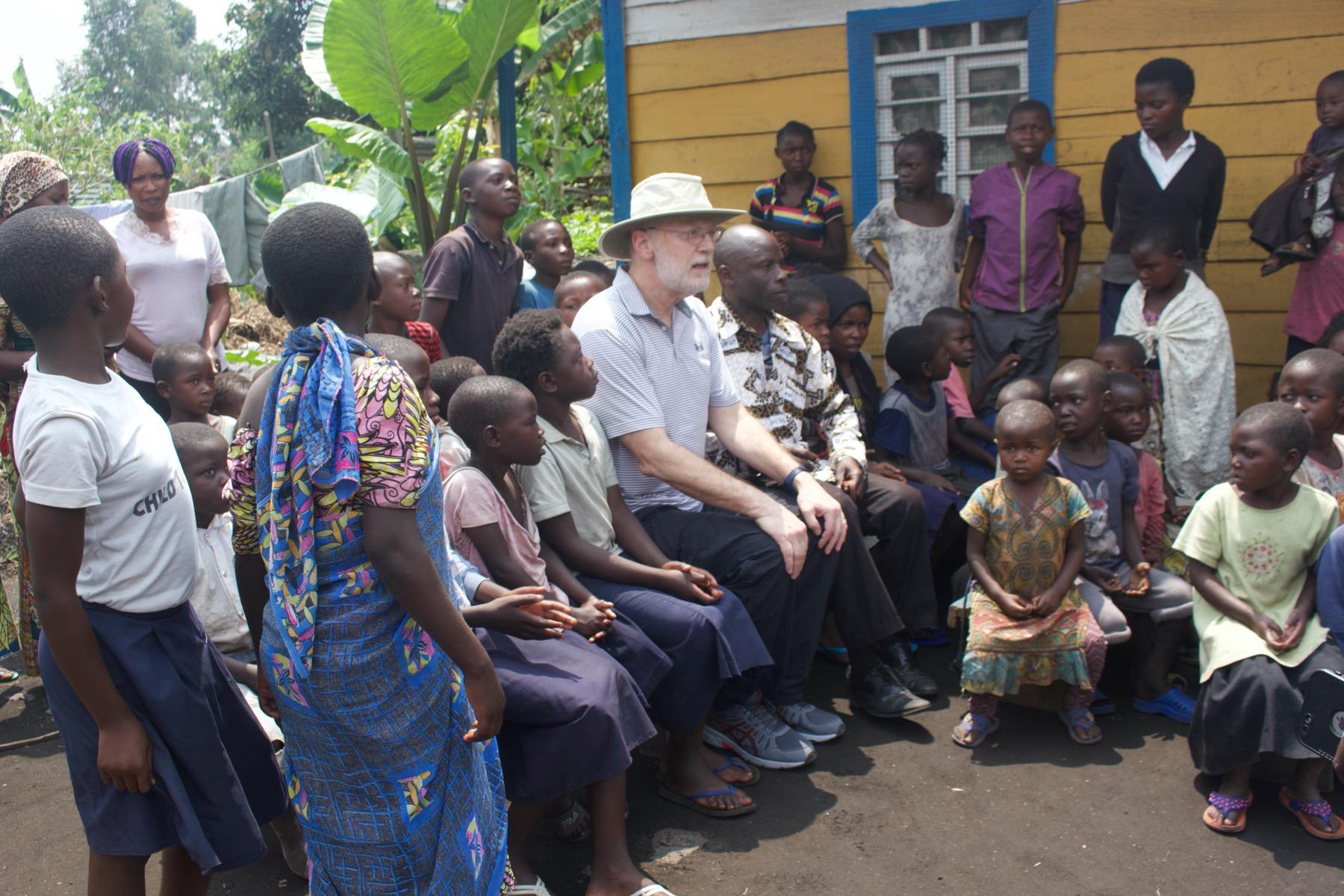 David Boan in Goma, DRC