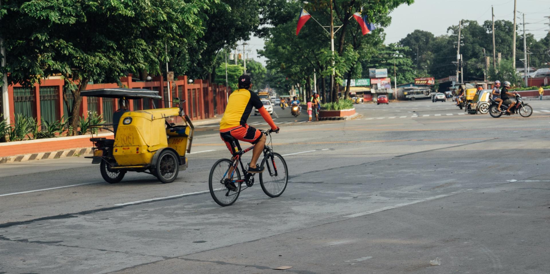 A rare sight - Manila without traffic