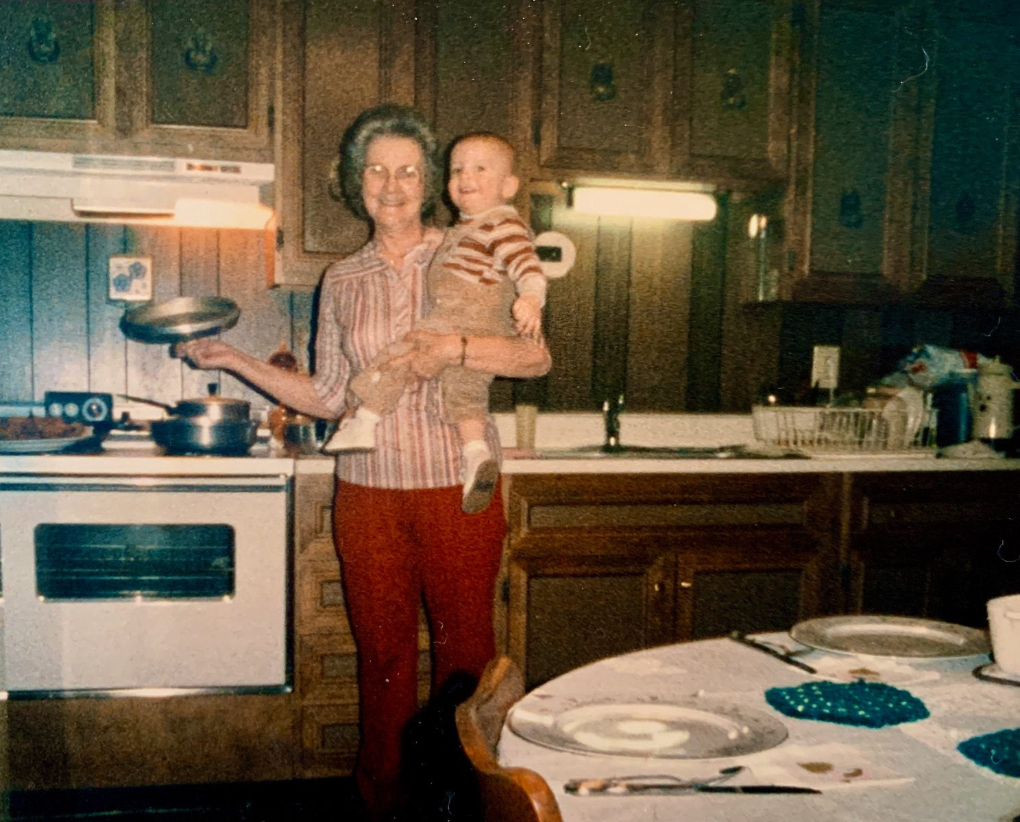 Josh and his Grandma
