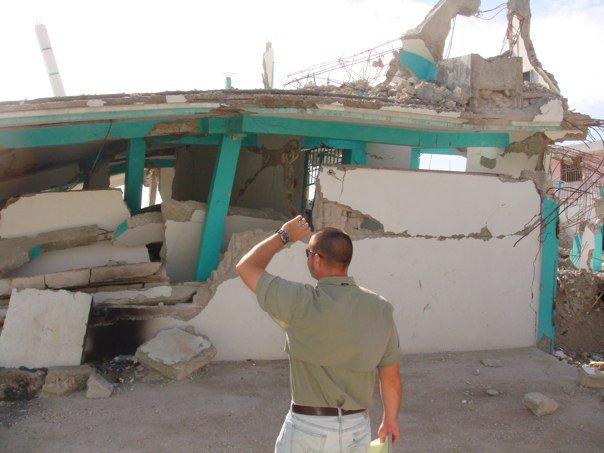 Josh Ayers in Haiti